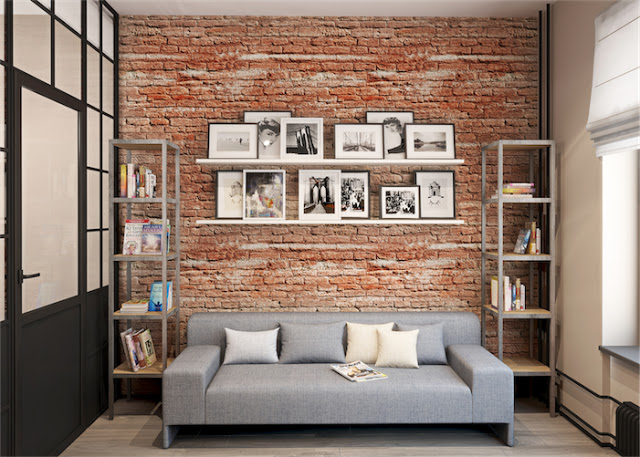 Tijolo vista celina molinari arquitetura e interiores - Impermeabilizar paredes interiores ...