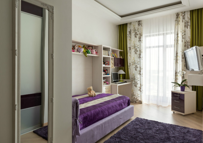 15-Purple-green-bedroom-decor